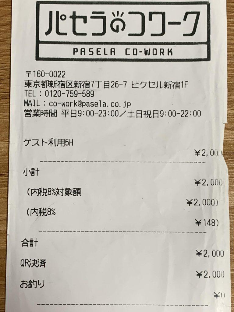 パセラのコワーク 東新宿店